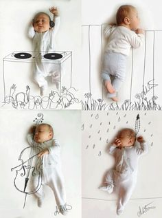 Fun & Quirky Baby / Kids Photos                                                                                                                                                                                 More