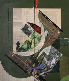 Am seidenen Faden hängen - (c) Elisabeth Rütsche Picasso, Collage Kunst, Collagen, Painting, Painting Art, Paintings, Draw
