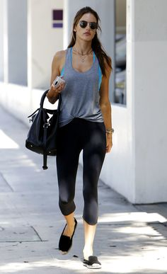 24 Reasons Why Alessandra Ambrosio Was Our Celeb Fitspiration This Year