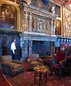 San Simeon.  --  the castle William Randolph Hearst built.