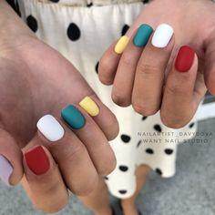 Basic Nails, Nail Inspo, Summer Nails, Simple Designs, Manicure, Nail Designs, Nail Art, Beauty, Nail Bar