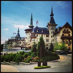 Off to The Dolder Grand for the Zurich Summit end of the month! Spa, Wellness, Beautiful Hotels, Zurich, Best Hotels, Lighthouse, Switzerland, Places Ive Been, Trips