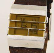 Large DIESEL LCD DZ-7071 Steel Gents Watch (A85)