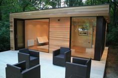 This one bedroom Garden House by In.It.Studios is a compact, efficient and sustainable prefab annex.