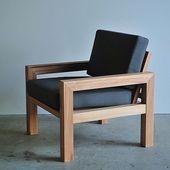 Wooden sofa - Beautiful work by johnston Diy Outdoor Furniture, Pallet Furniture, Furniture Plans, Home Furniture, Outdoor Chairs, Furniture Design, Dining Chairs, Kitchen Chairs, Furniture Makeover