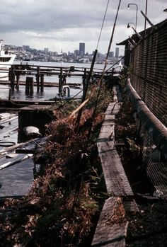 Gas Works Park prior to its construction in Seattle's Wallingford neighborhood. Pictured in 1973. Photo: Seattle Municipal Archive