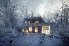 Making of Unbuilt house | CG Tutorials library