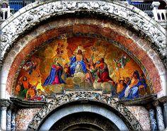 Basilica San Marco entrance tympanum | Flickr - Photo Sharing!