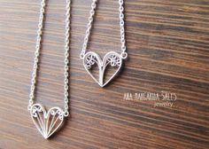 Filigree Pendant Necklace - Jewelry Ana Margarida Sales