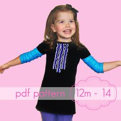 Cap-Sleeve A-Line Dress  INSTANT download  pdf sewing by jocole