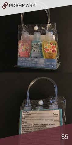 Hand Sanitizer- 3 pack Hand Sanitizer- 3 pack - Japanese Blossom, Ocean Breeze, & Fresh Fruit Makeup