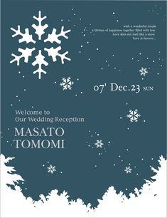 """Welcome board with illustrations of the season """"Winter Winter . - Welcome board with illustrations of the season """"Winter Winter"""" -"""