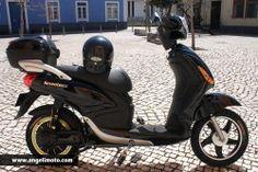 Seventeen - Bicicleta Eléctrica (Preta) www.angelimoto.com