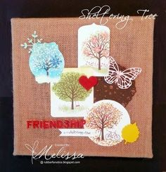 Stampin' Up! Sheltering Tree by Melissa Davies @rubberfunatics @stampinup #stampinup #rubberfunatics