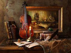 35PHOTO - Андрей Морозов - Натюрморт со скрипкой и картиной