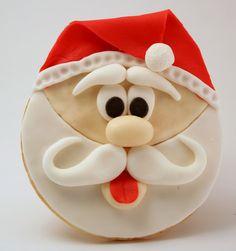 A cookie, but a cute idea for a Christmas card.
