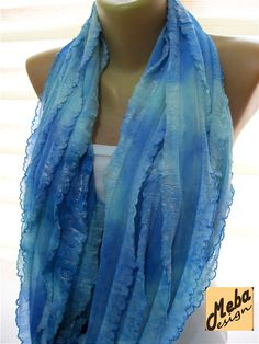 SALE  990 USD Infinity  Scarf  Circle Scarf Loop by MebaDesign
