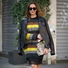 Not-Your-Average Sweater Dresses For Not-So-Average Girls: If we told you we were into sweater dresses for Fall, that would be so blah of us.