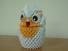 3d origami owl - by bartlq d2znoou  - Fantàstic!