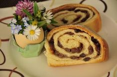 Kärntner Reindling - Rezept Strudel, Baking Recipes, Sushi, Deserts, Food And Drink, Pudding, Sweets, Snacks, Breakfast