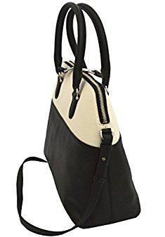 Ralph Lauren Handbags Clearance Women S Harrington Dome Satchel Black White