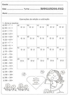 Atividades de somar e subtrair para o 2° ano do ensino fundamental