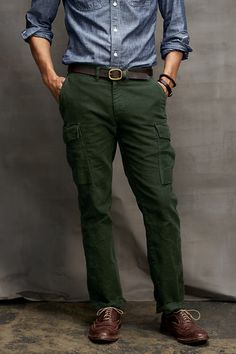 Men's Cargo Pants from Lands' End