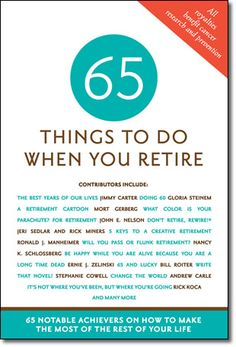 """Artists never retire but Greg's is #58 """"Be Inspired Night and Day"""" in Things to Do When You Retire -"""
