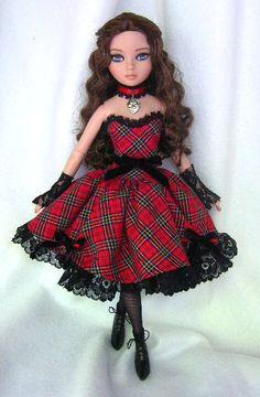 "Divas by Design for Ellowyne Wilde ""HIGHLAND SERENADE""  http://www.etsy.com/listing/83273733/divas-by-design-for-ellowyne-wilde"