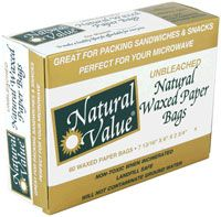 Natural Value Waxed Paper Bags