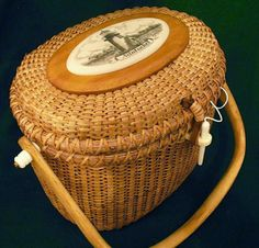 Nantucket Lightship Basket Purse - something to go with my lobster pants!!