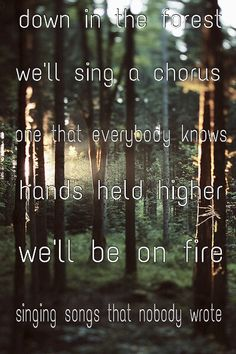 From Forest by twenty one pilots