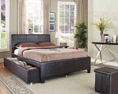 Decorating Queen Bed With Trundle For Kids Bedroom