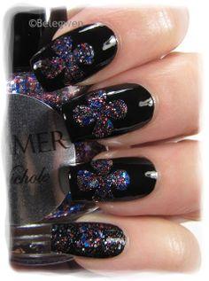 Nail Art by Belegwen: Shimmer Polish: Nichole
