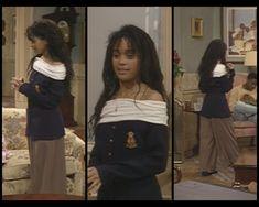 lisa bonet - cosby show Old School Fashion, 90s Fashion, Vintage Fashion, Fashion Outfits, Womens Fashion, Fashion Ideas, Lisa Bonet Cosby Show, 1990 Style, The Cosby Show