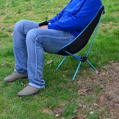 lightweight folding camping chair fishing hiking beach portable seat