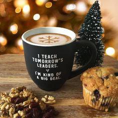 It's no secret that teachers require a steady flow of caffeine. After all, teaching is kind of a big deal! So always keep a coffee handy with this awesome mug for the classroom, while you turn your yo