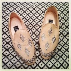 My favorite handmade babouche slippers by Liwan at TIINA the STORE