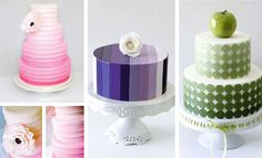 Ombre Cakes from Sweet Style