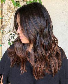 Brown Ombre Hair, Brown Hair Balayage, Brown Blonde Hair, Brown Hair With Highlights, Light Brown Hair, Hair Color Balayage, Brown Hair Colors, Brunette Hair, Auburn Balayage