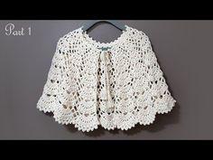 Crochet Collar, Crochet Blouse, Crochet Poncho, Crochet Scarves, Crochet Clothes, Crochet Baby, Crochet Cape Pattern, Crochet Chart, Crochet Basics