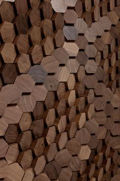 Innovative Pixel-like Surface Designs By Giles Miller Studio #wood #wooden
