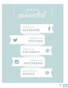 Stay Connected! | WeddingWire WINTERBOOK 2013