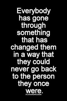 Change is always good.