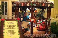 Carousel made out of #gingerbread #walt #disney #princess #Mickey #mouse #minnie #vacation #getaways #occasions  #Magic #Kingdoms