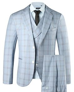 Hanayome Men's 3 PC Casual Stylish Suit Blazer Jacket Tux... https://www.amazon.com/dp/B01G0M6AVE/ref=cm_sw_r_pi_dp_x_jU1Syb17WQHY5