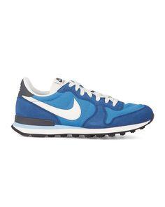 Navy and Royal Blue Internationalist Sneakers NIKE