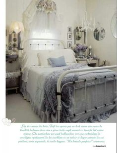 Cool Shabby Chic Bedroom Decorating Ideas - For Creative Juice - Cottage Shabby Chic Bedroom Decor. Cottage Shabby Chic, Shabby Chic Mode, Shabby Chic Interiors, Shabby Chic Bedrooms, Shabby Chic Furniture, Shabby Chic Decor, Cottage Style, Bedroom Furniture, Shabby Chic Bathroom Accessories