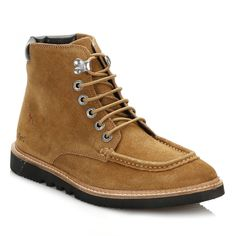 Kickers Mens Tan Kwamie Boots 1-14458 | TOWER London  #boots #kickers #shoes #menswear #style