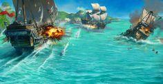 لعبة عاصفة القراصنة |Pirates-Storm-Game |عاصفة القراصنة Game